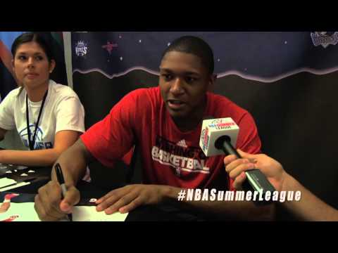 Bradley Beal of the Washington Wizards picks favorites at the 2012 NBA Summer League