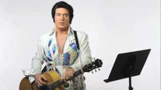 """How to Sing Like Elvis Presley - """"Love Me Tender"""" karaoke lyrics"""
