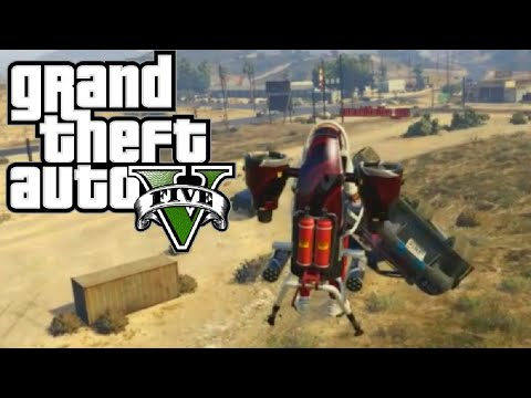 GTA 5 Funny Moments #65! (JET PACK FUN, FAILS, and MORE!)