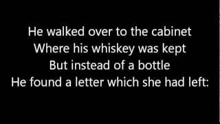 Who Bought The Whiskey - Amos Raber Jr with lyrics