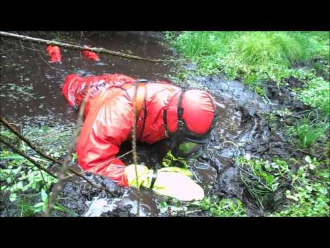 Fun in red april rainwear