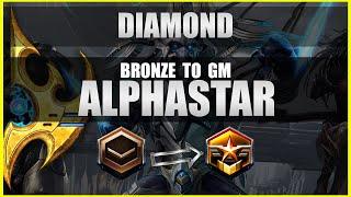 """Diamond"" AlphaStar Bronze to GM Ep3 [PvT] Deepmind A.I. Starcraft 2"
