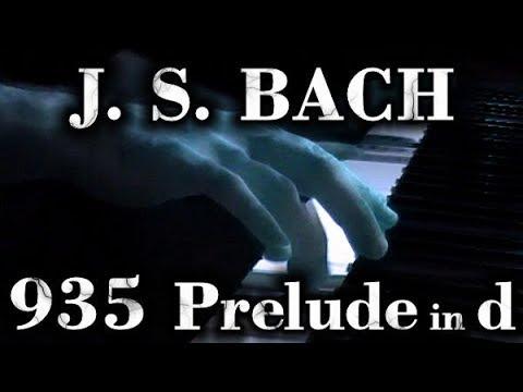 Бах Иоганн Себастьян - prelude in D minor