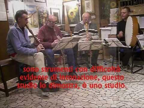 L'Alma mia, Ballata Francesco Landini, Studio intonazione Ance, Pro Musica Antiqua, Milano