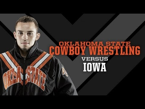 #2 Oklahoma State vs. #4 Iowa - 2013 Wrestling Highlights