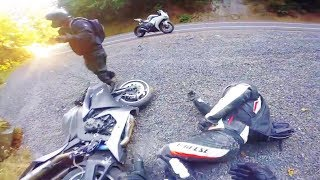 MOTORCYCLE CRASHES ON THE ROAD & EPIC DIRT BIKE FAIL | COMPILATION