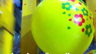 Latex balloon printer-Balloon Screen Printing Machine 2 color 5 side