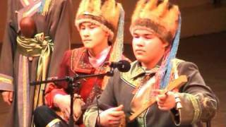 "Best throat singing, ""Altay"" Boys Горловое пение. ""Алтай"", Горно-Алтайск"
