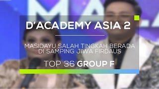 Masidayu Salah Tingkah Berada di Samping Jiwa Firdaus (D'Academy Asia 2)