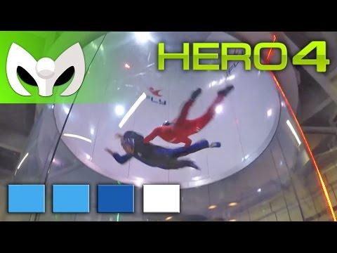GoPro Hero 4 BLACK Grabación 4K a @30fps y 1080p a @120fps (Prueba Volando!)