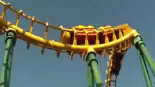 The Boomerang at Wild Adventures in Valdosta GA