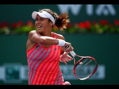 2015 BNP Paribas Open Day 5 WTA Highlights
