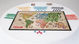 Hasbro Risk Game Improved mission cards speed up the game; features 12 secret missions