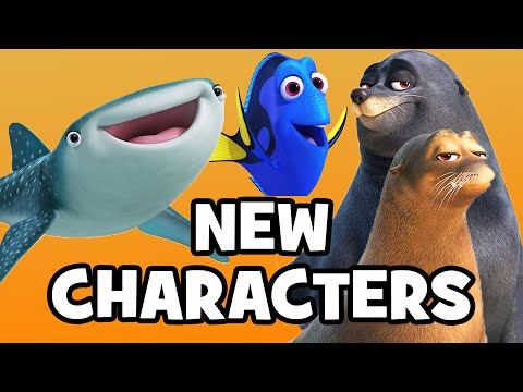 FINDING DORY: Meet The Characters & Cast - Pixar Finding Nemo Sequel