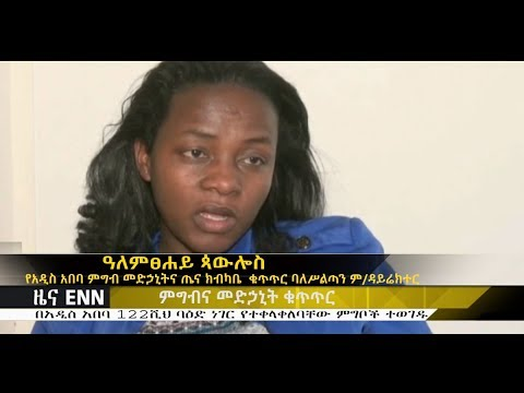 122 thousand food items that contains unknown things found in Addis Ababa