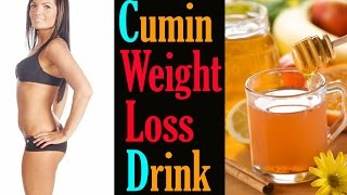Fat Cutter Drink For Extreme Weight Loss | Cumin Weight Loss Drink | Get Flat Belly In 5 Days