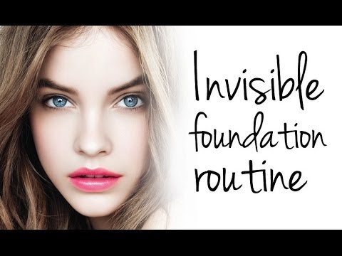 INVISIBLE FOUNDATION ROUTINE - FOR WOMEN THAT HATE FOUNDATION!