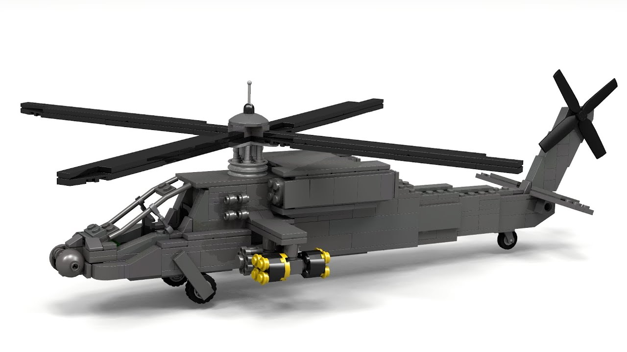 How To Build A Lego Helicopter Step By Step
