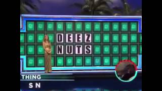 DEEZ NUTS! Wheel Of Fortune Video