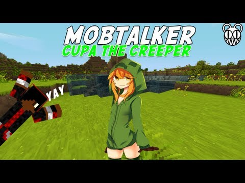 Minecraft Mob Talker Script Showcase: Cupa the Creeper Take 2 Part 1