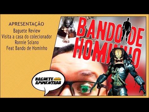 Baguete Review  Visita a casa do colecionador Ronnie Solano Feat  Bando de Hominho