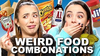 WEIRD Food Combinations People Love  - Merrell Twins