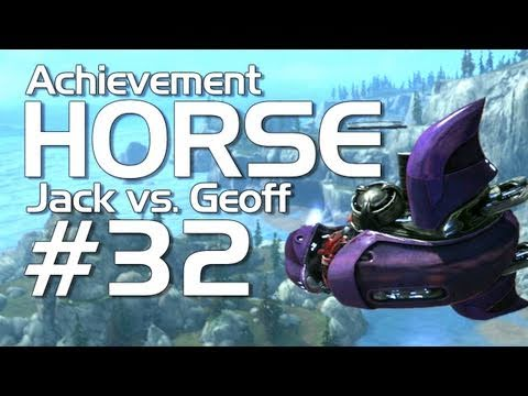 Halo: Reach - Achievement HORSE #32 (Jack vs. Geoffrey)