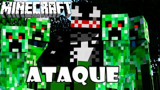 O Ataque dos Creepers - Minecraft