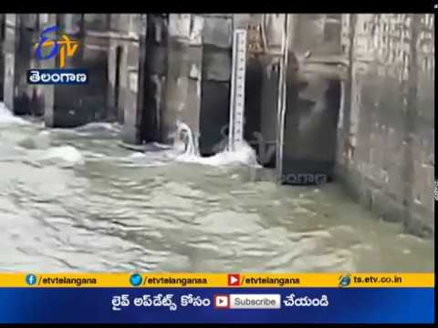 Sriram Sagar Project Water Level Reaches | at 44.7 TMC's