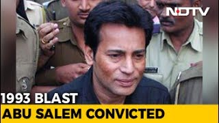 Terrorist Abu Salem Convicted In 1993 Mumbai Blasts Case