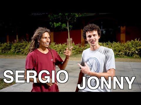 Anything On Flatground Counts |Sergio VS Jonny Giger Round 2