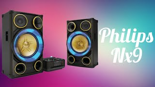 PHILIPS NITRO,NX9  the ultimate sound machines.