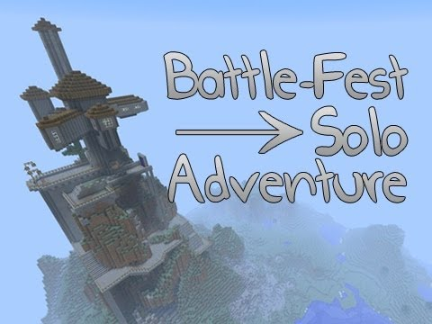 Minecraft: Battle-Fest Solo Adventure w/Mitch Part 1