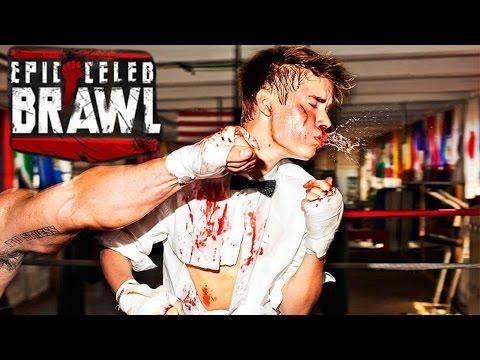 Epic Celeb Brawl - Justin Beiber