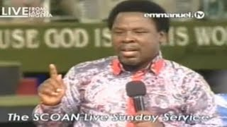 Why Medical Doctors See Themselves As god! We Make Jesus Unpopular By Our Confessions! TB Joshua