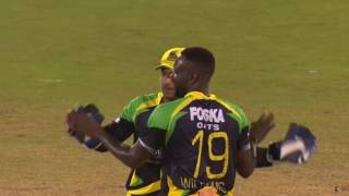 Trinbago Knight Riders v Jamaica Tallawahs Highlights - 4 July 2016  CPL T20 2016