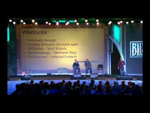 Blizzcon 2011 WOW Mists of Pandaria Part 7: Class Changes