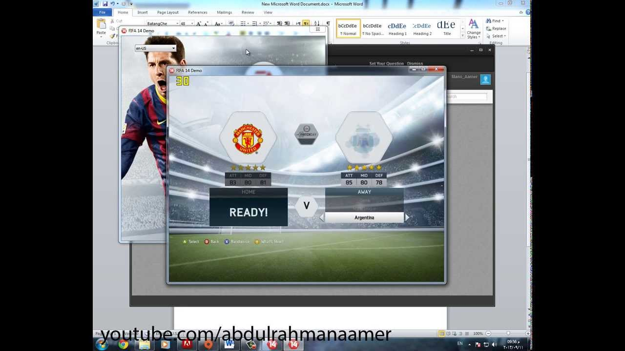 Fifa 14 Demo Patch Unlock - unlocks 25 teams + time + stadiums як встановит
