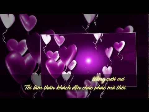 Karaoke - Hoa Bằng Lăng - Nhạc Hoa Lời Việt
