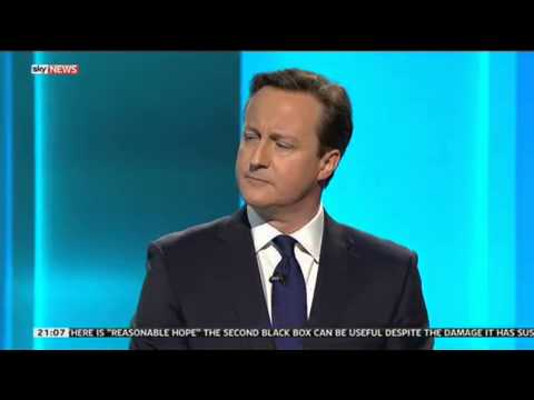 Leaders' Debate - Talk Turns To Immigration