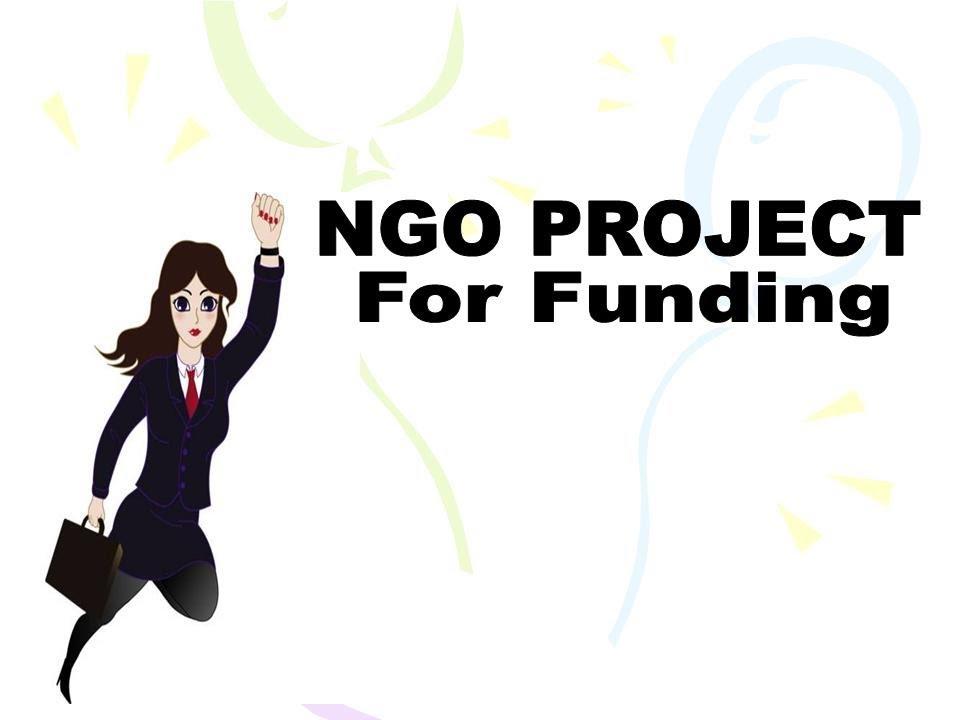 ngo funding proposal