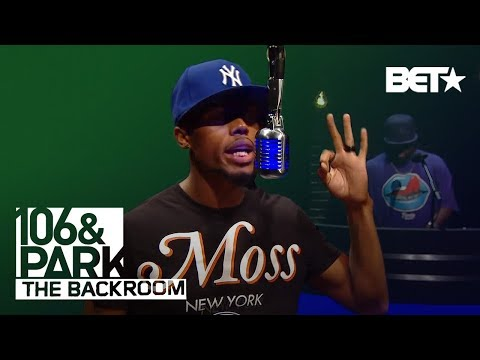 B.o.B. 106 & Park Backroom Freestyle!