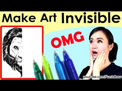 Making My Art DISAPPEAR! Fun Art | Mei Yu