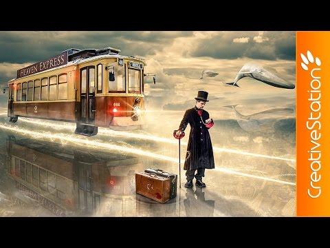 Heaven Express - Speed art (#Photoshop) | CreativeStation