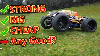 You Won't Believe How Cheap This  Massive RC Monster Truck is - Durability test!
