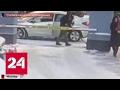 Избивший ребенка с матерью таксист утверждает, что не виноват