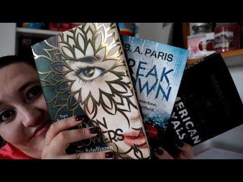 Neuzugänge August 2018 ( nur 3 Bücher )