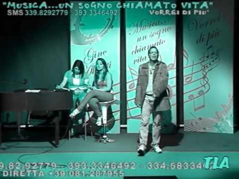 Gino Alberti Sei DIversa Al Programma Musica Un Sogno Chiamato Vita