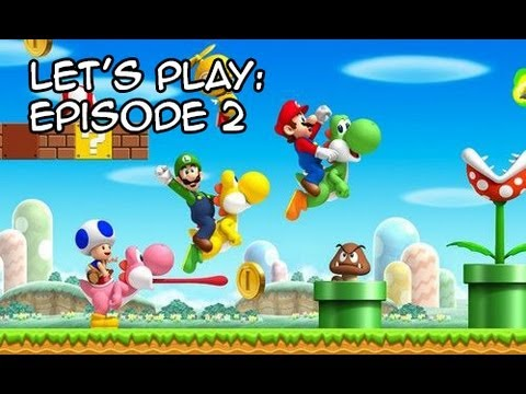 Let 39 s play new super mario bros wii du renouveau niveau - Passage secret mario bros wii ...