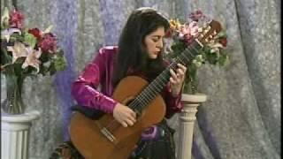 لیلی افشار گیتاریست کلاسیک ایرانی و نغمهای ایرانی